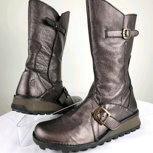 FLY LONDON Buckle Boots Mes 2